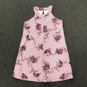 Three Pink Hearts Dress